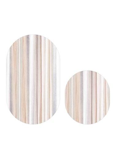 Soley Çizgiler Djt. 2 Li Oval Banyo Paspas Seti Klozet Takımı Renkli